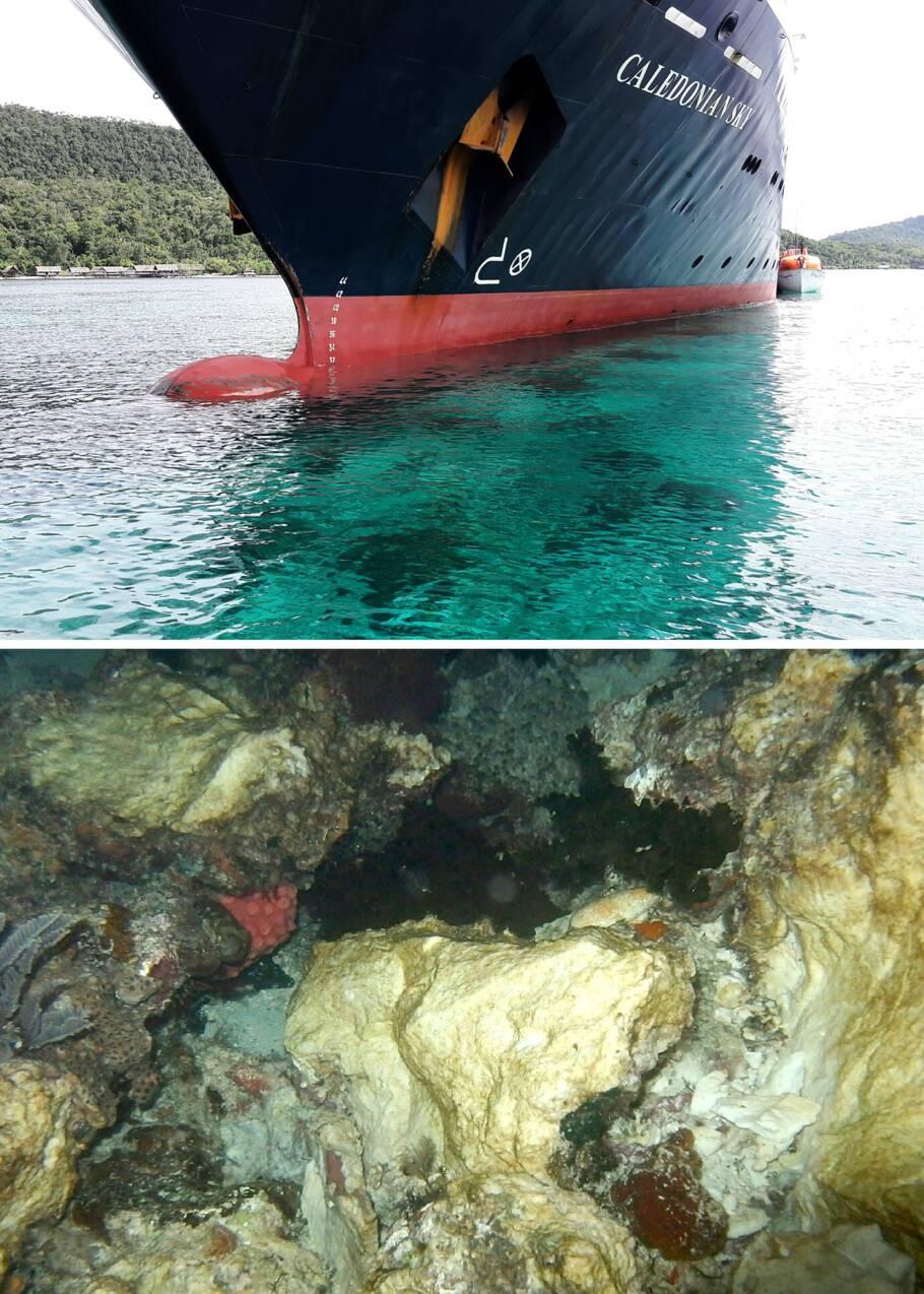 Récifs coralliens percutés: l'Indonésie convoque l'ambassadeur anglais