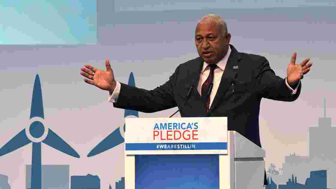 Les Fidji font le lien entre changement climatique et cyclones