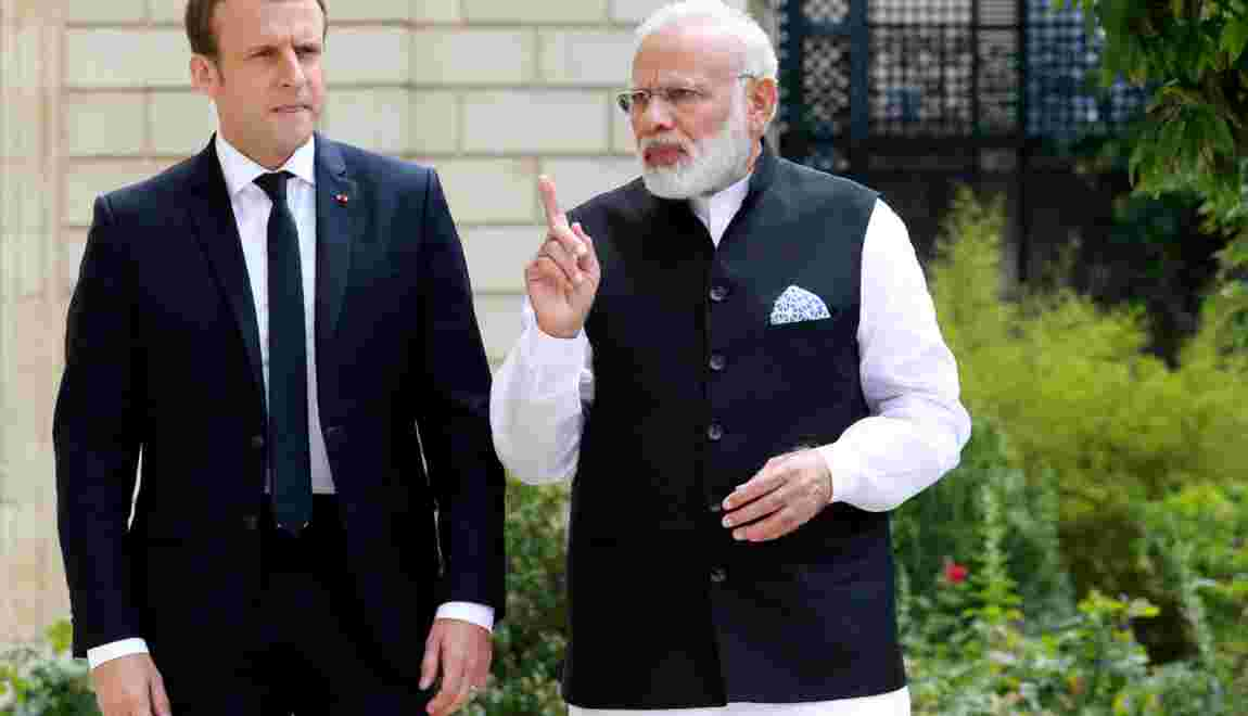 Climat: l'Inde assure la France de son soutien à l'Accord de Paris