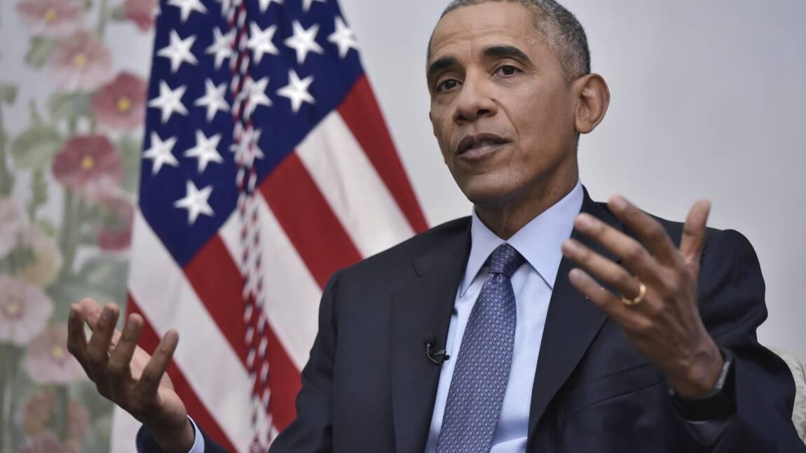 Obama à Trump: l'accord de Paris est bon pour l'Amérique