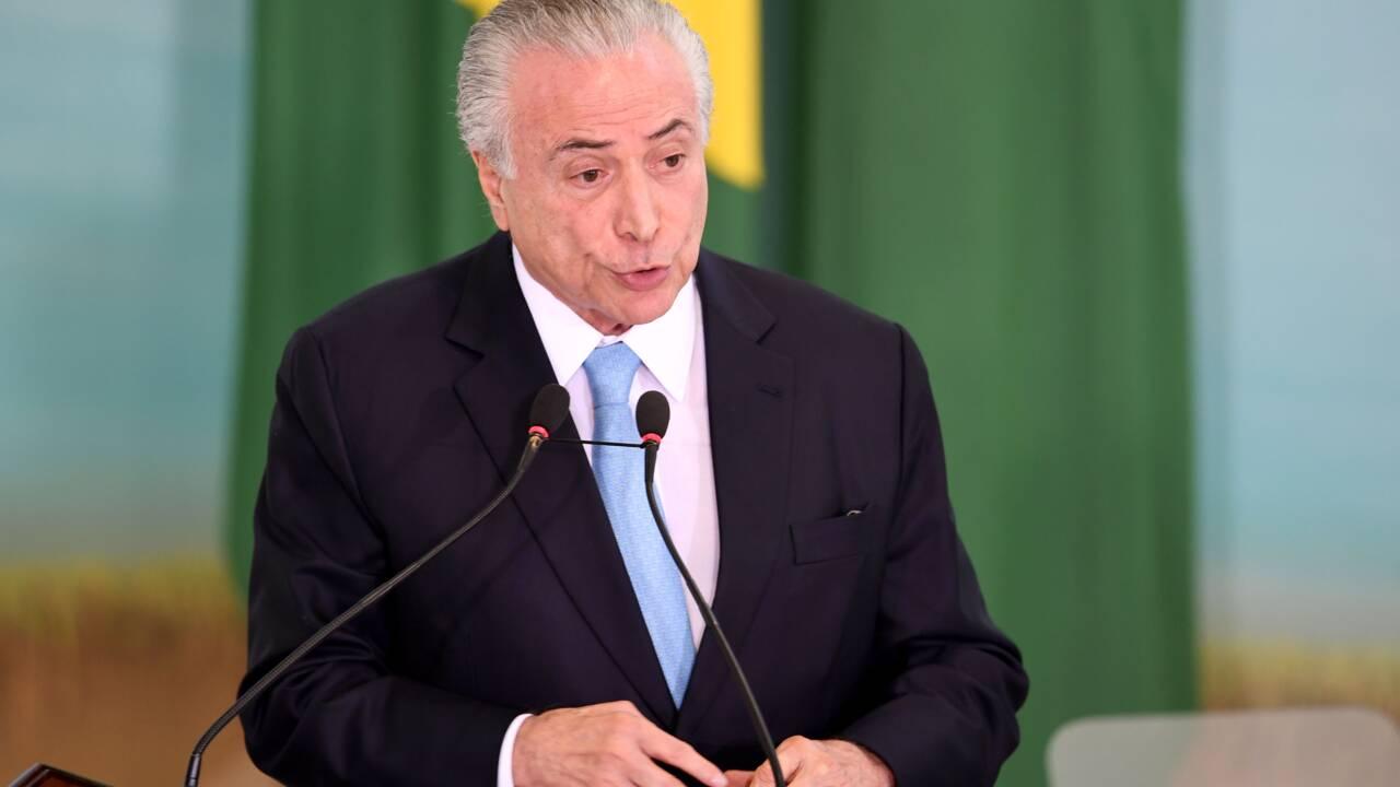 Brésil : véto présidentiel à des lois autorisant la déforestation