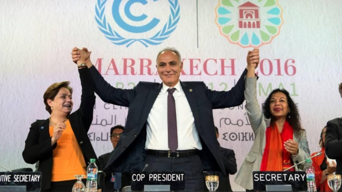 """Climat: la COP22 compte sur le  """"pragmatisme"""" de Trump"""