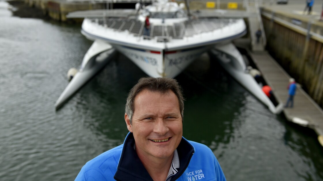 Race for Water: un catamaran vert autour du monde pour des océans plus bleus