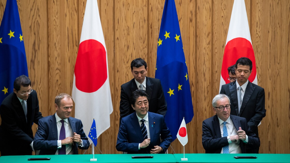 "Accord UE-Japon: des ONG dénoncent ""un accord climaticide"" et un recul de Paris"