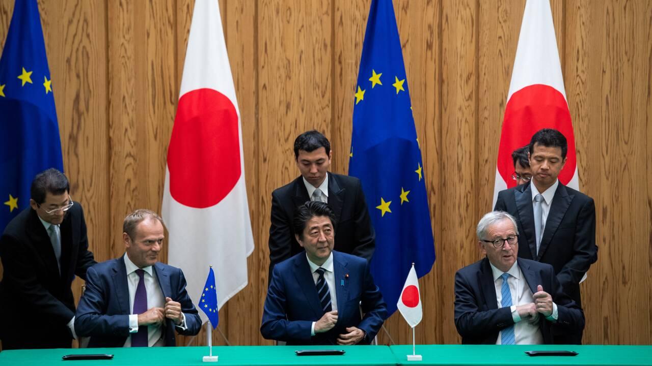 """Accord UE-Japon: des ONG dénoncent """"un accord climaticide"""" et un recul de Paris"""