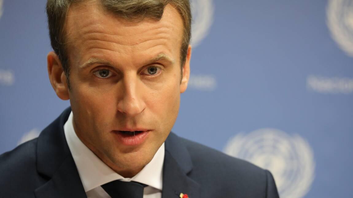 Macron va offrir à Trump un jeune chêne pour la Maison Blanche