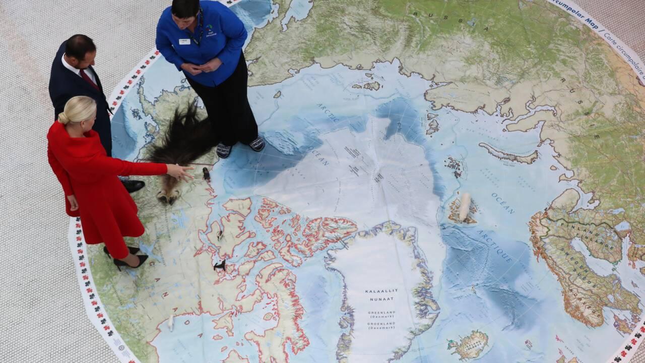 Arctique: une zone fragile menacée par le réchauffement et les forages