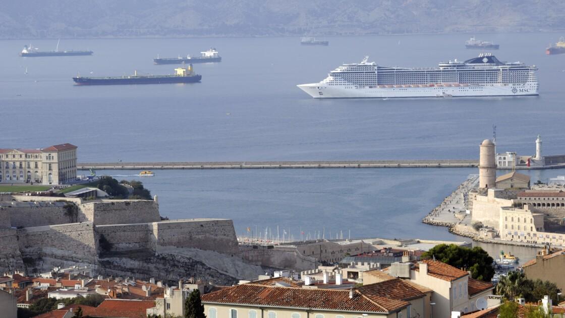 Marseille: un capitaine de navire jugé pour pollution de l'air, une première