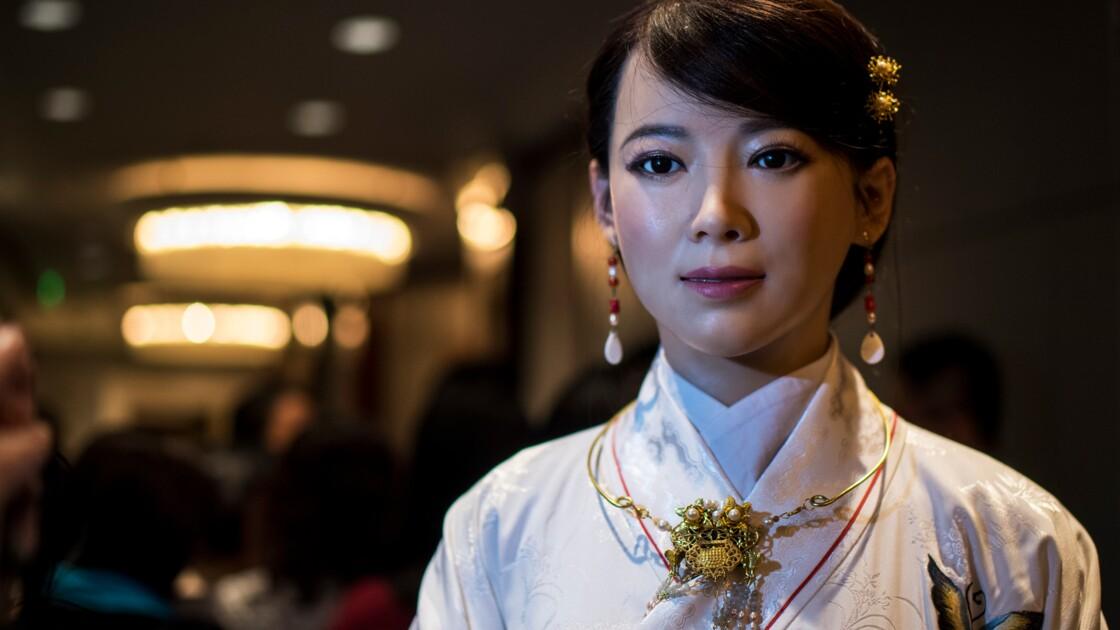 Jia Jia, le robot chinois féminin qui vous veut du bien
