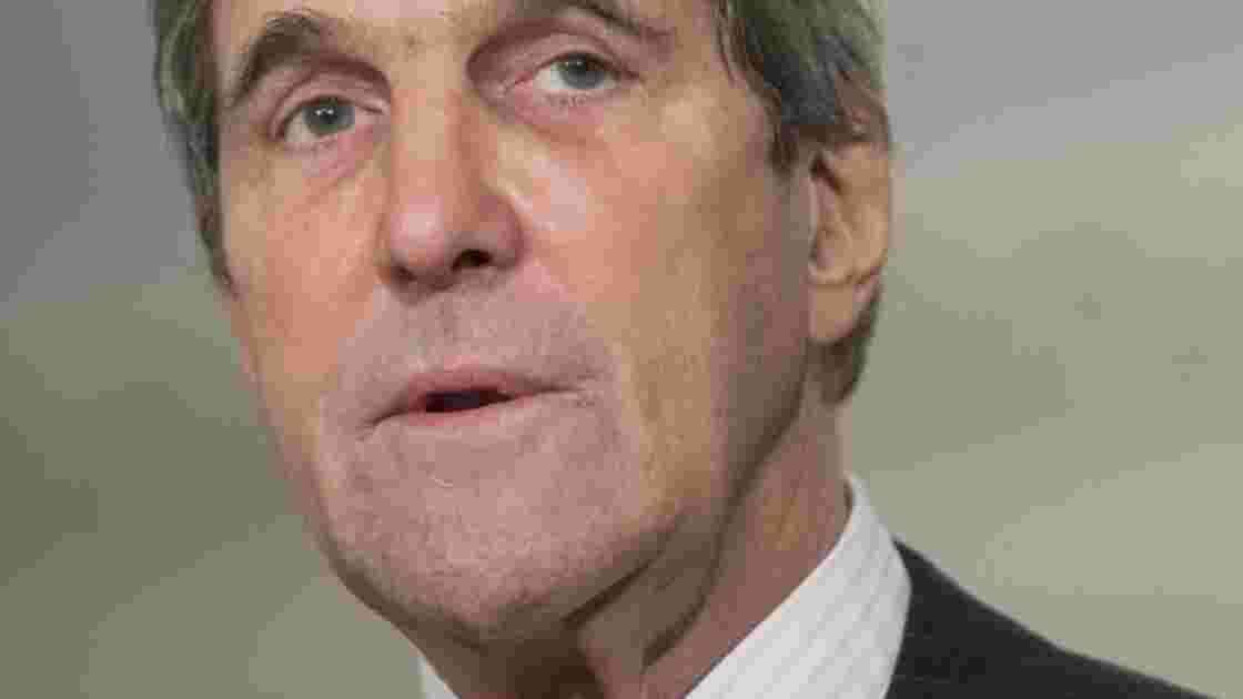 Climat: Kerry, premier secrétaire d'Etat américain en Antarctique