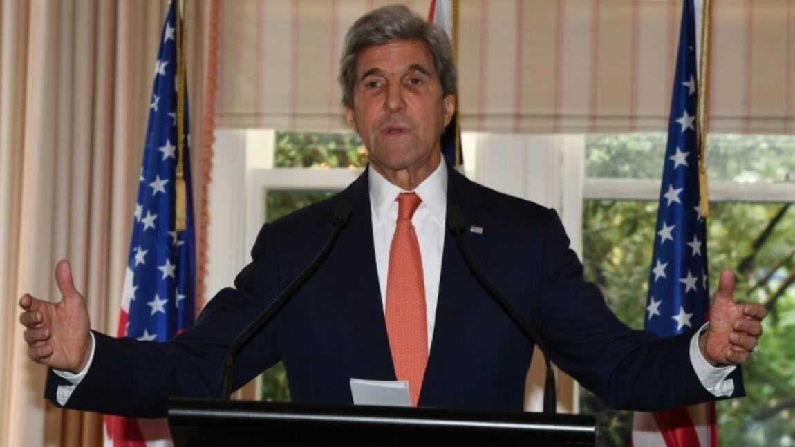 Kerry adresse à Trump un plaidoyer en faveur de l'environnement