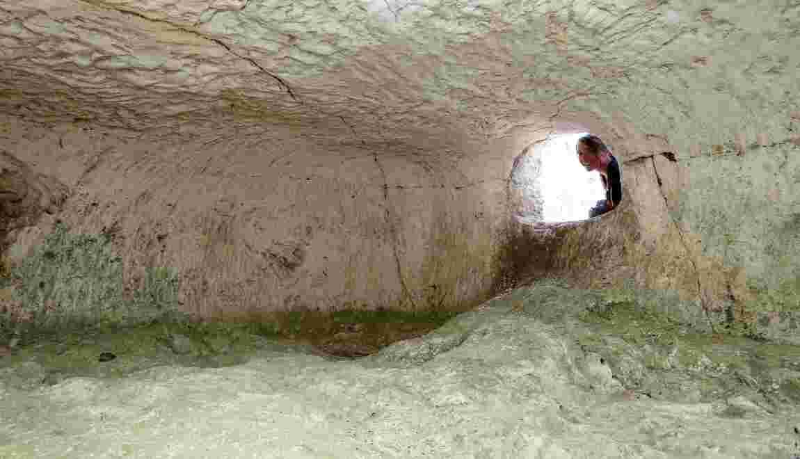 En Champagne, des grottes funéraires au coeur de fouilles archéologiques