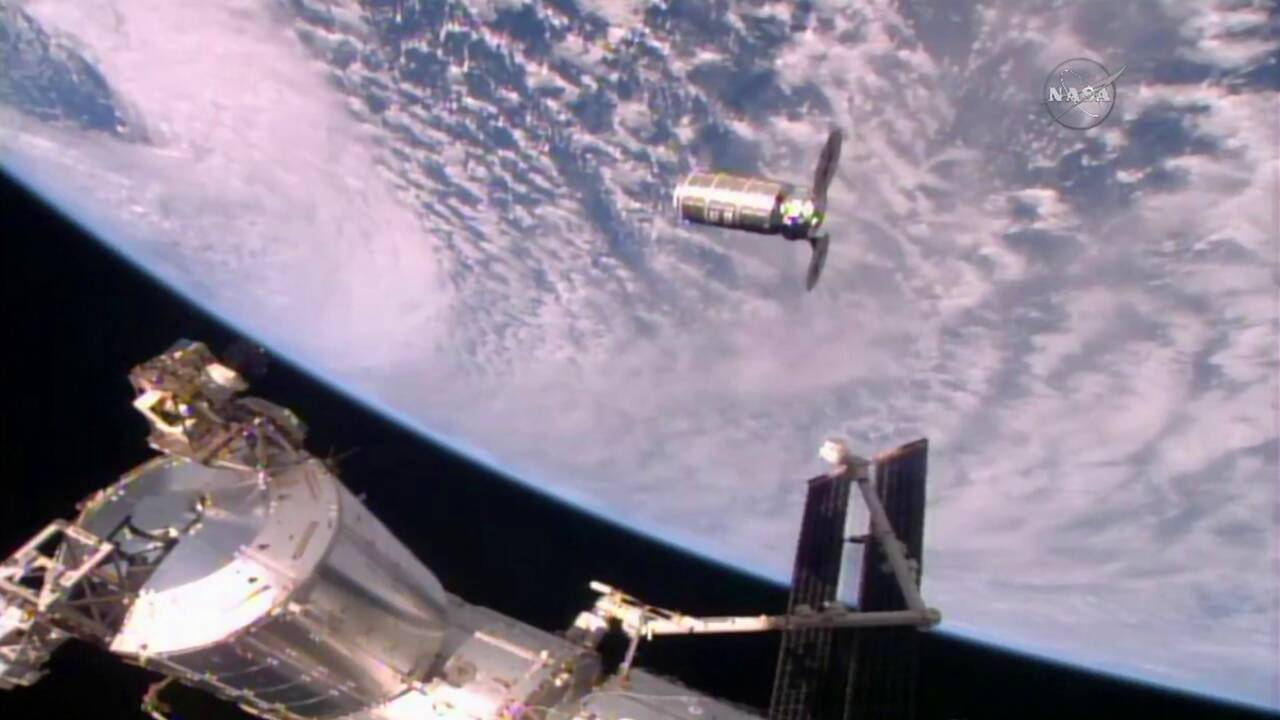 ISS: le vaisseau-cargo ravitailleur consumé dans l'atmosphère