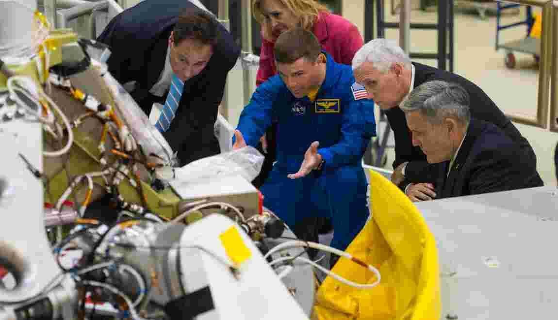 Conquête spatiale: Trump fixe de grandes ambitions mais offre peu de détails