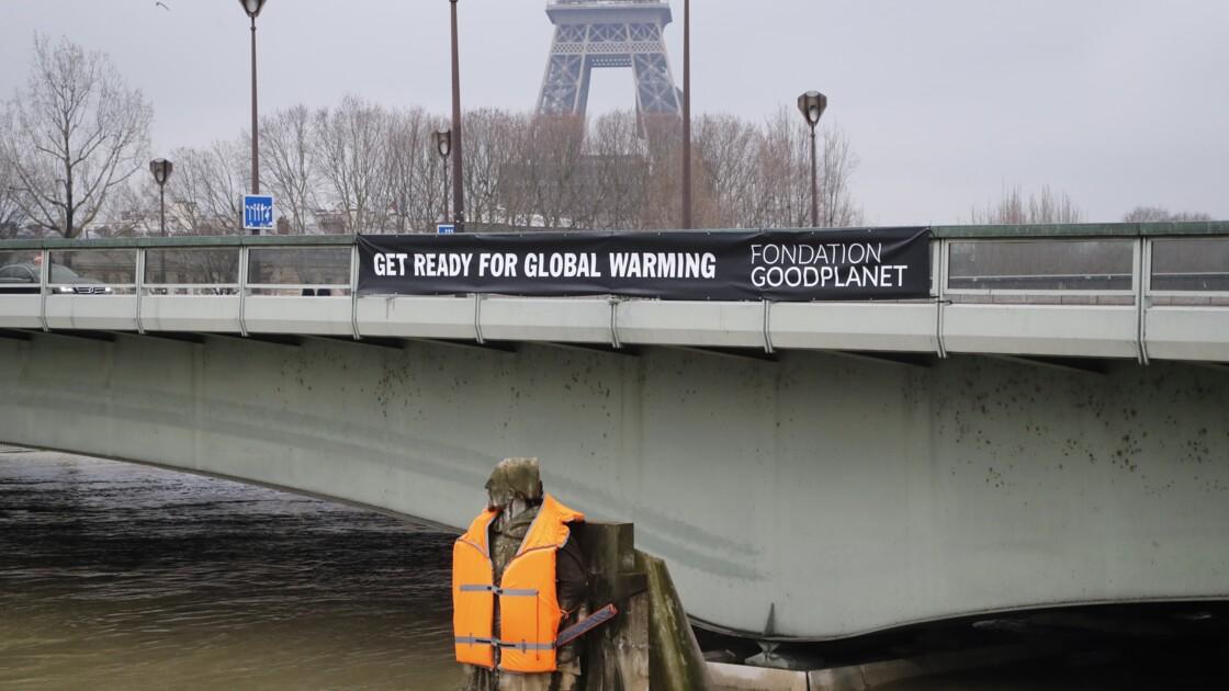 Réchauffement climatique : un gilet de sauvetage pour le zouave de la Seine