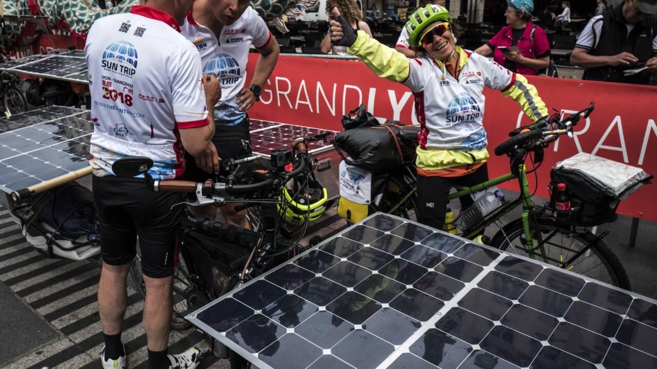 """""""Sun Trip"""", 39 aventuriers en vélo solaire sur la Route de la soie"""