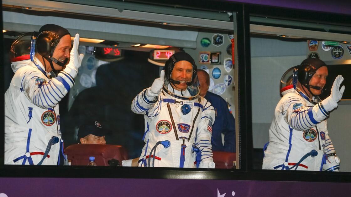 Deux Américains et un Russe décollent du Kazakhstan pour rejoindre l'ISS