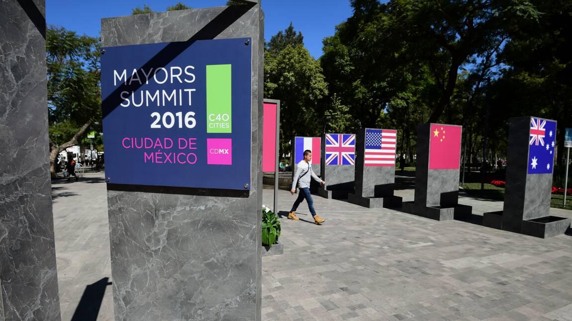 Climat: les maires des grandes villes de la planète réunis à Mexico