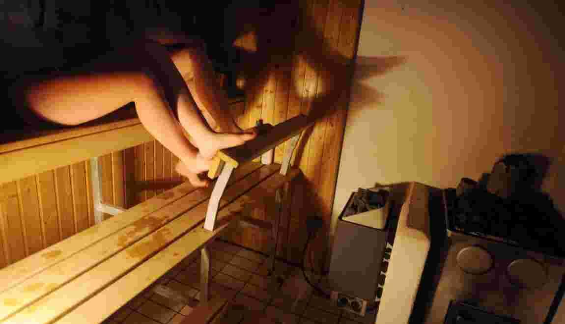 Se rendre régulièrement au sauna réduirait les risques d'infarctus