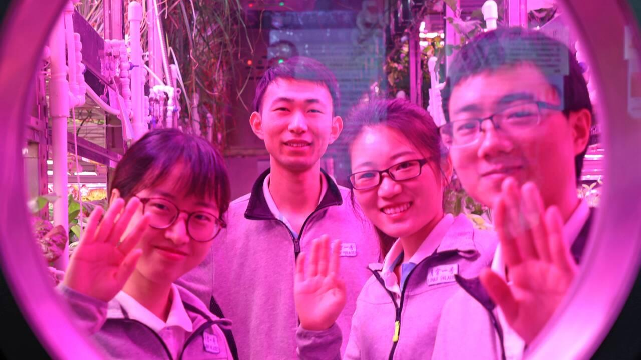 """Espace: des Chinois ont vécu 200 jours """"comme sur la Lune"""""""
