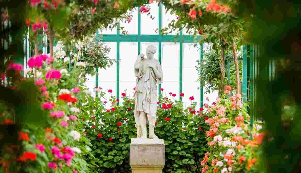 A Bruxelles, les Serres royales se dévoilent au printemps