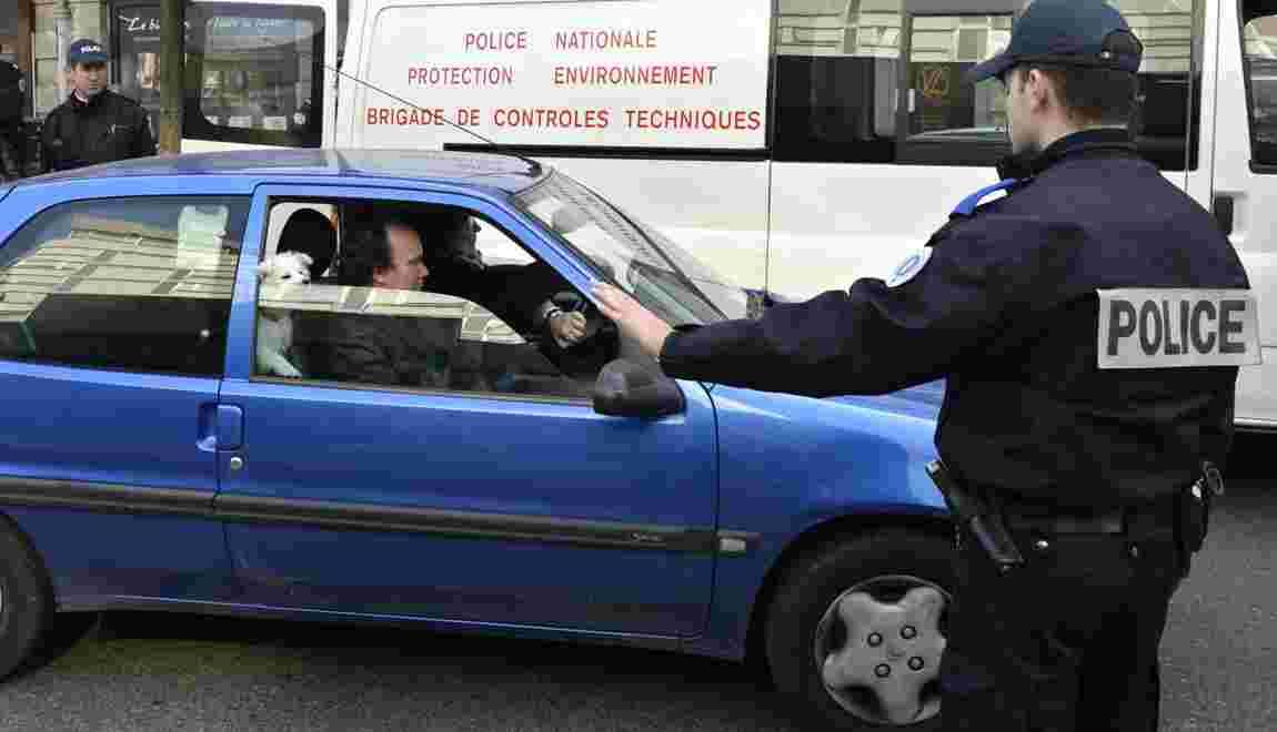 Pollution: les véhicules les plus polluants interdits lundi à Paris et en proche banlieue