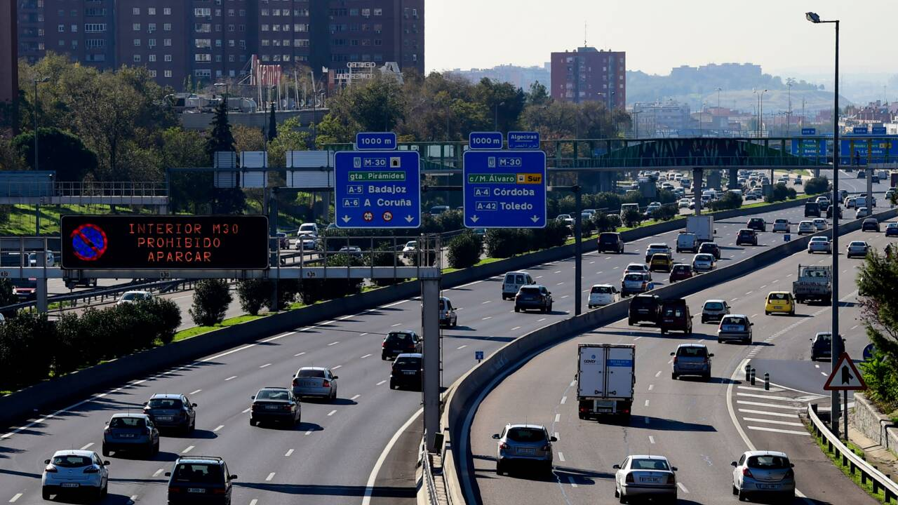 Pollution: Madrid inaugure la circulation alternée