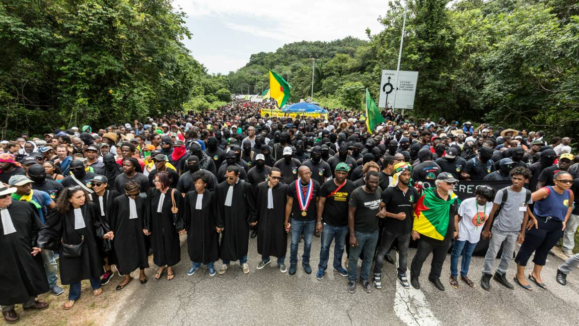 Guyane: l'accès au centre spatial de Kourou débloqué