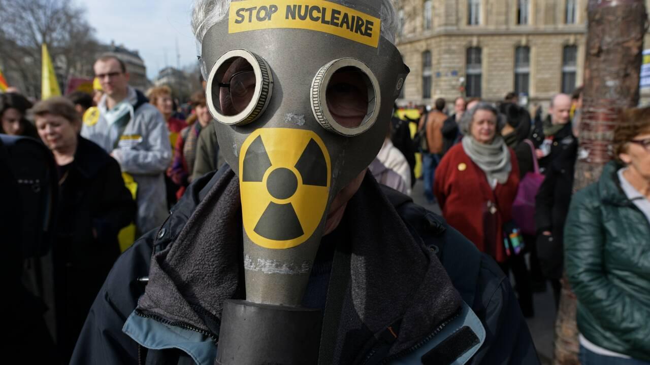 Manifestations contre le nucléaire six ans après Fukushima