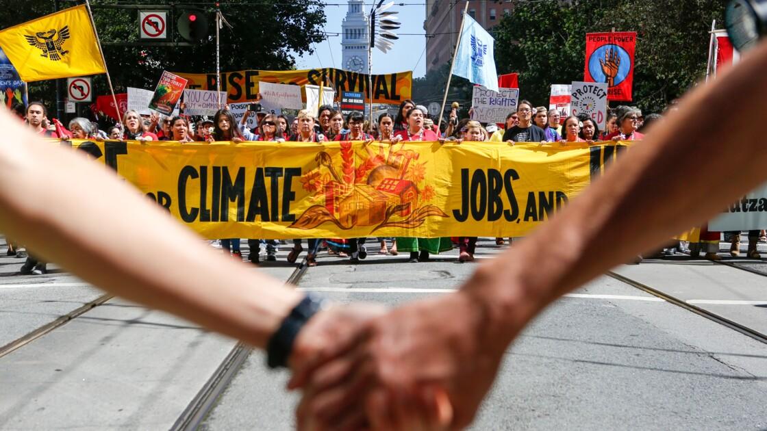 """De Bangkok à San Francisco, """"Debout pour le climat"""""""