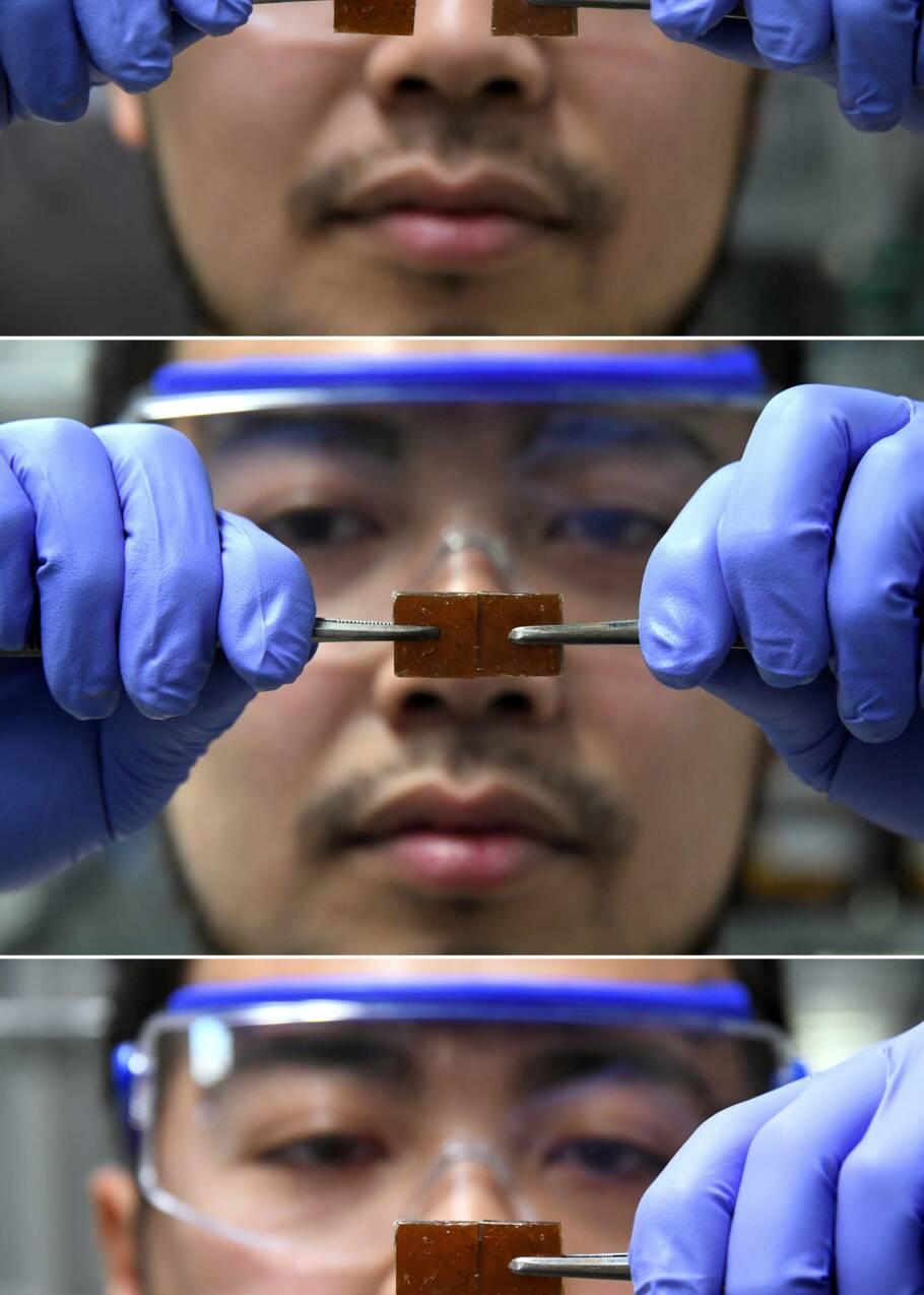 Un chercheur japonais invente un verre auto-régénérant