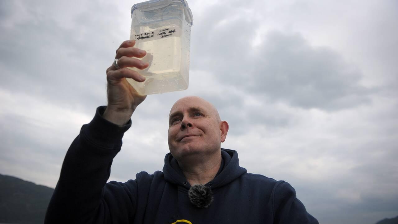 A la recherche de l'ADN du monstre du Loch Ness