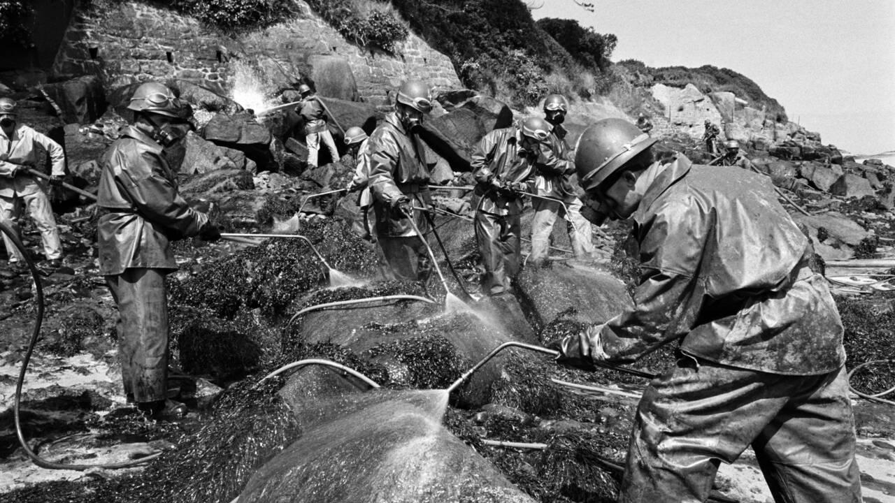 L'Amoco Cadiz et la litanie des marées noires en Bretagne