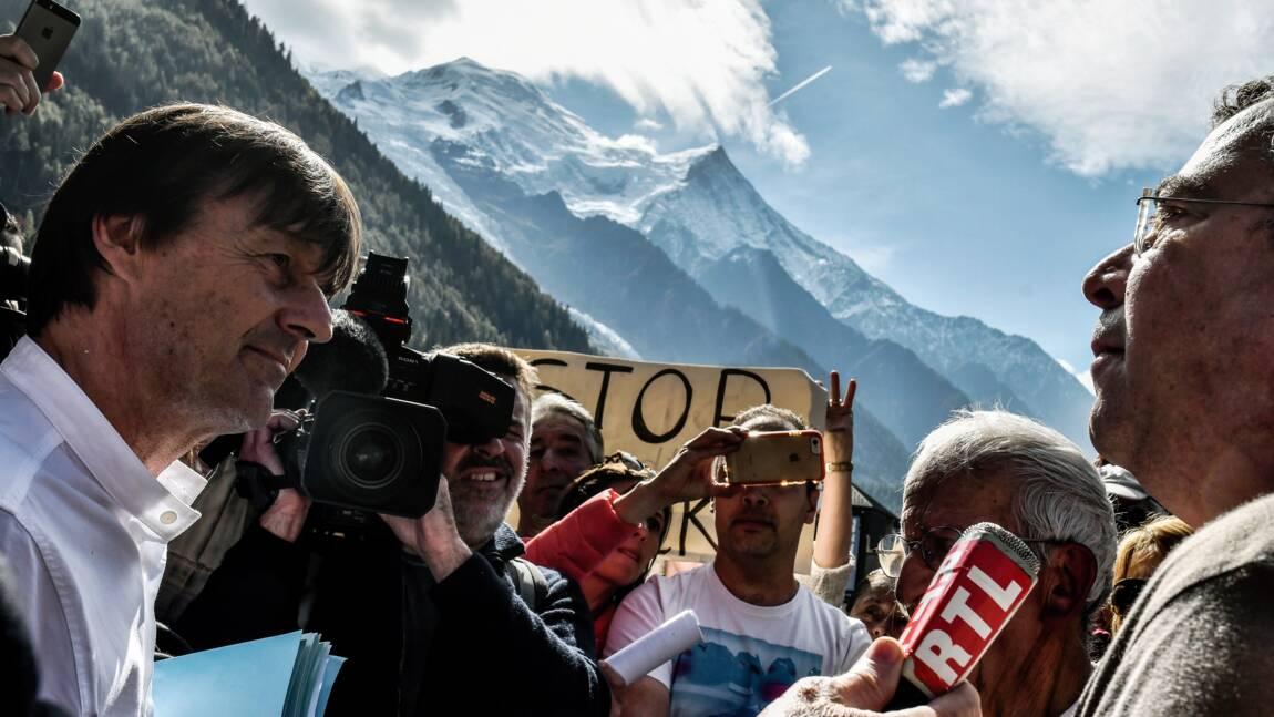 """Pollution: Hulot expose une méthode faute de """"baguette magique"""""""