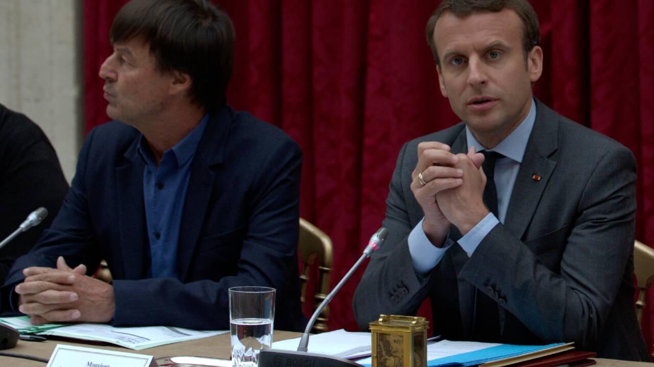 Macron donne des gages sur l'environnement aux ONG