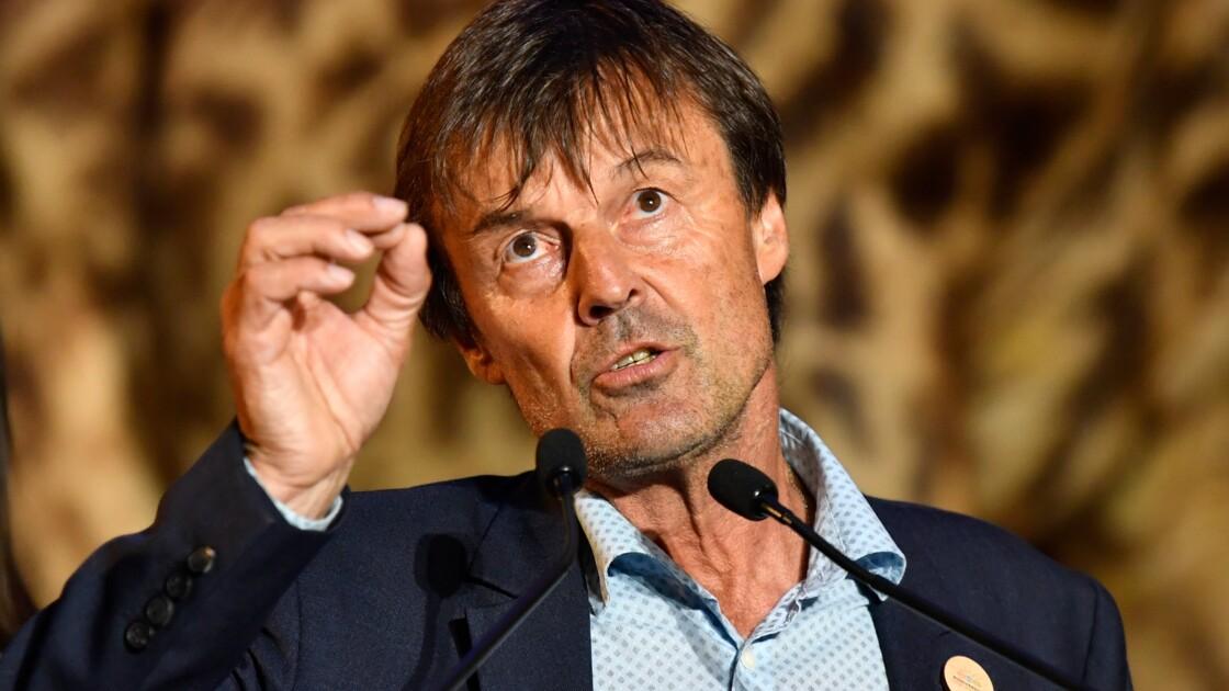 """Premier bilan du plan climat: Hulot plaide pour """"changer d'échelle"""""""