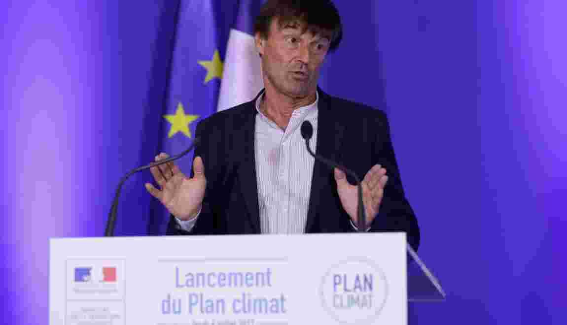 """Hulot veut cesser """"la déforestation importée"""""""