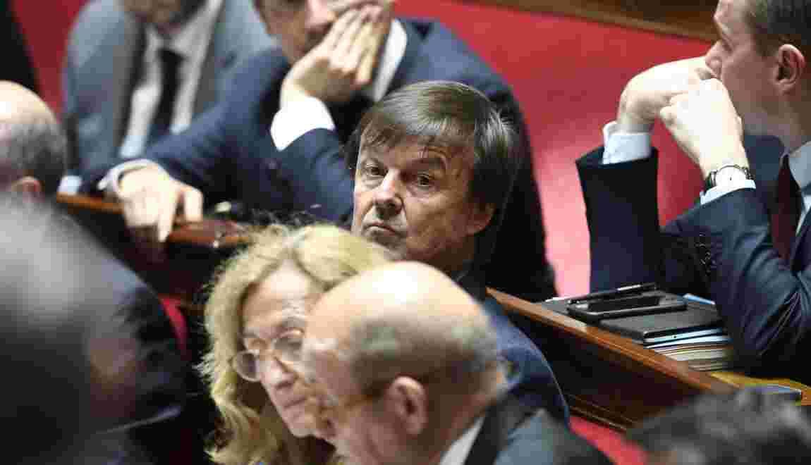 """Hulot """"totalement asphyxié"""" au gouvernement, selon Jadot"""