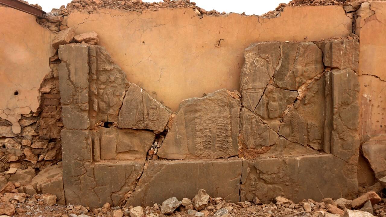 Des archéologues irakiens formés à Londres pour sauver le patrimoine de Mossoul