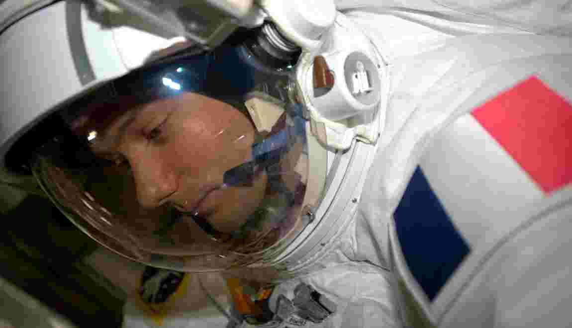 Thomas Pesquet redescend sur Terre