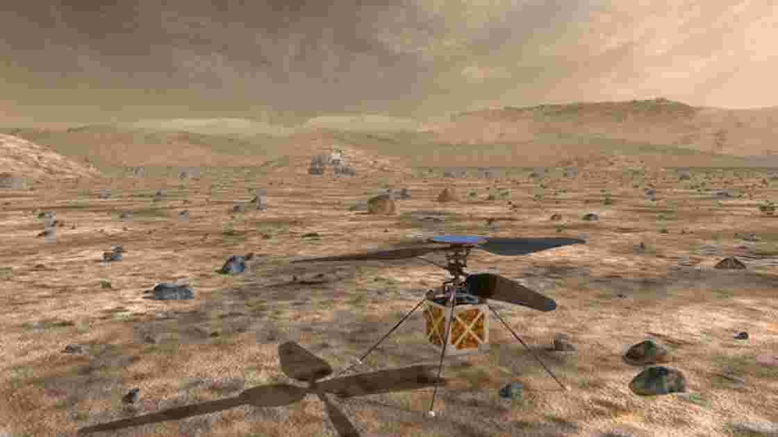La Nasa prévoit d'envoyer un mini-hélicoptère sur Mars