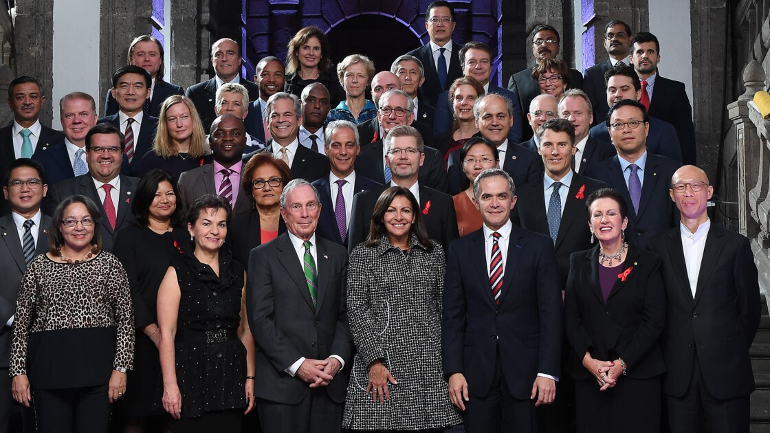 Climat: les maires des grandes villes se mobilisent à Mexico