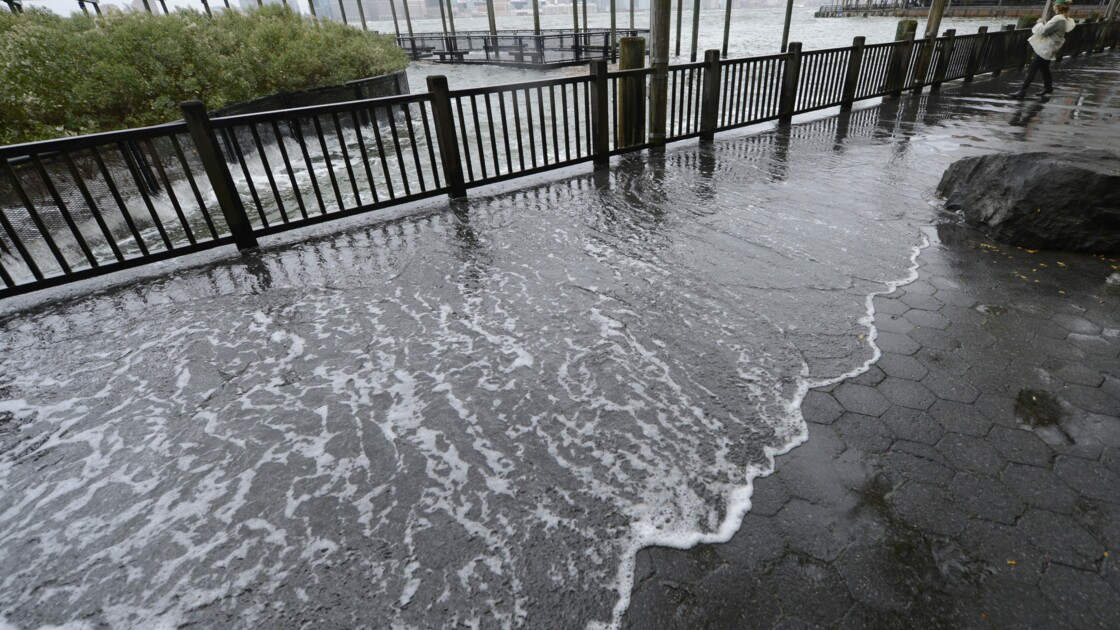 New York inondée tous les 5 ans, un scénario possible (étude)