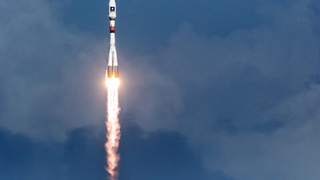 Un Soyouz décollé de Guyane met en orbite un satellite espagnol