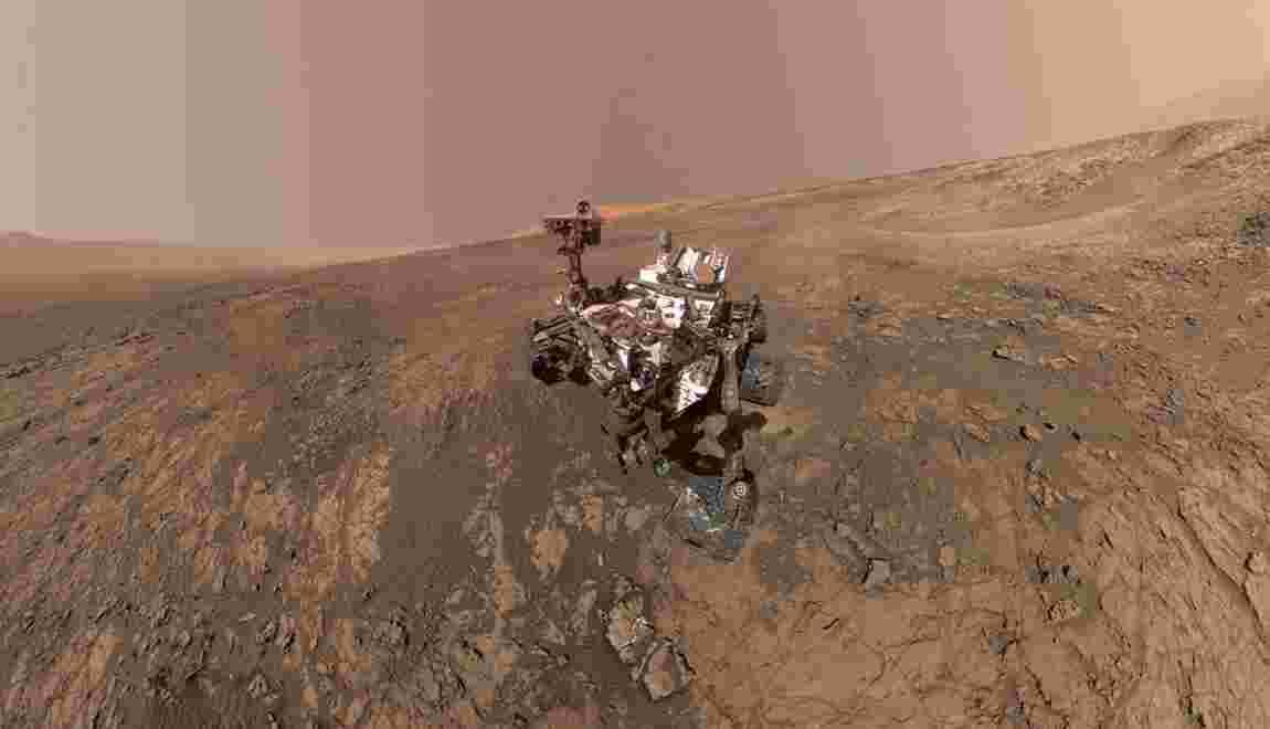 Mars: découverte de la plus complexe matière organique