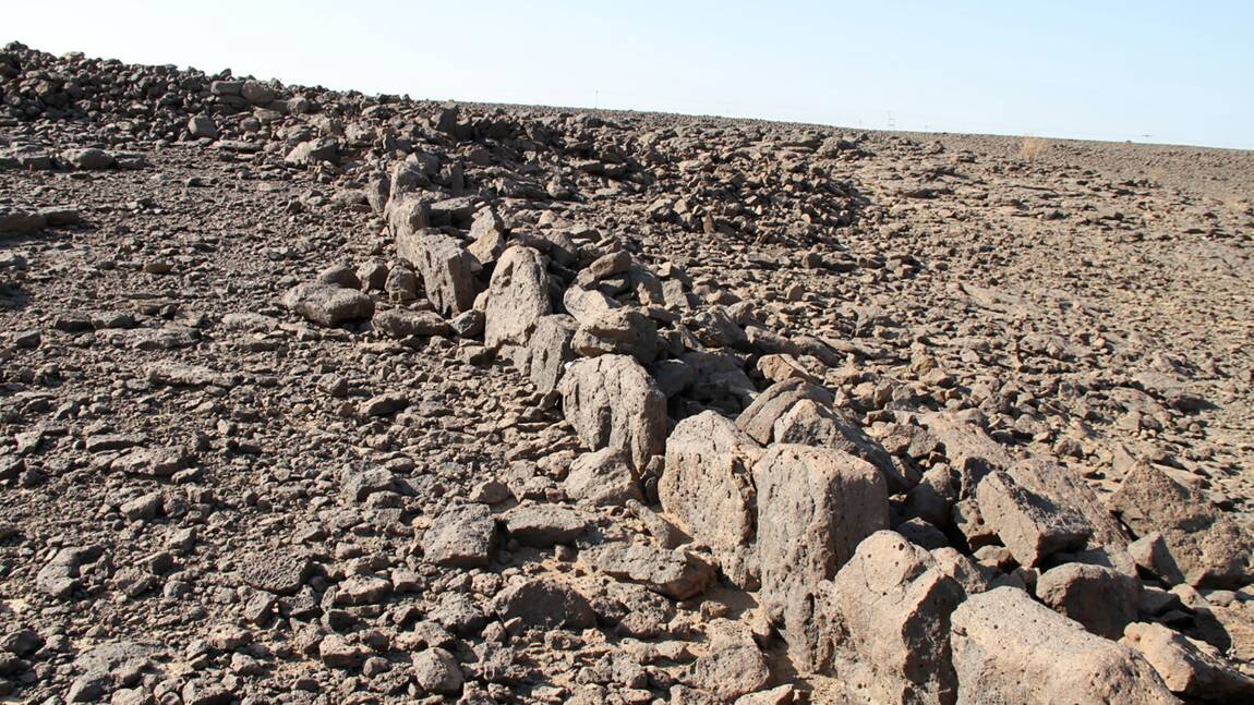 Les mystérieuses structures de pierres du désert saoudien