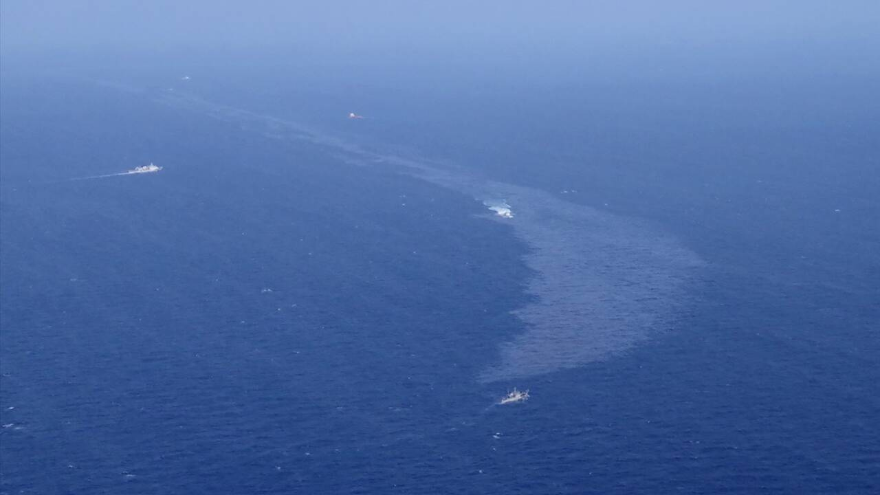 Le Japon confirme que le pétrole échoué provient certainement d'un pétrolier iranien