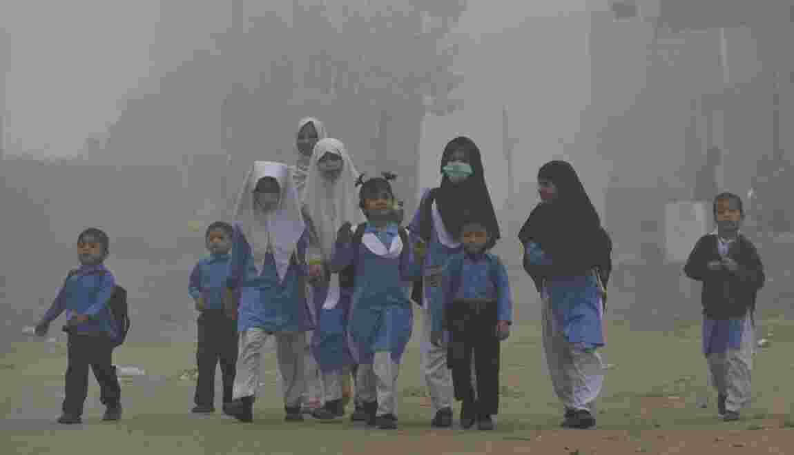 Au Pakistan, la pluie chasse le smog, mais la pollution de l'air reste inquiétante