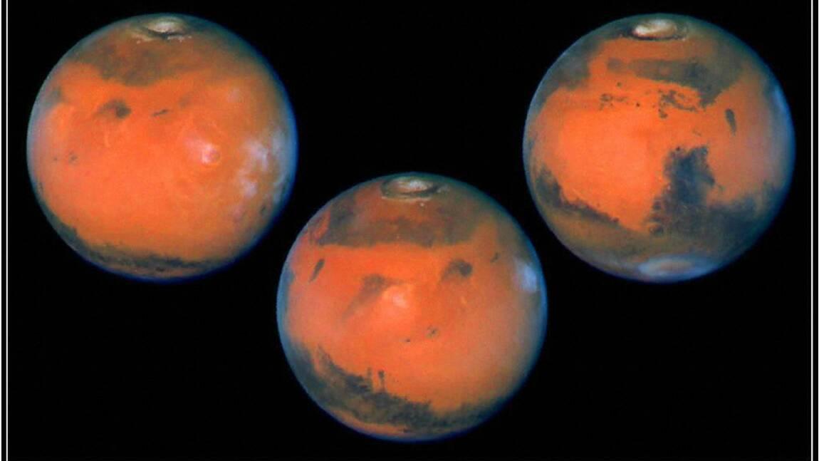 Cocktail toxique à la surface de Mars