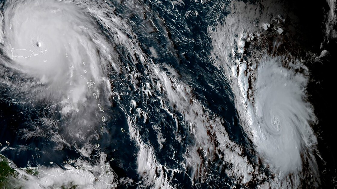 Irma: cyclone tropical le plus long à une telle intensité
